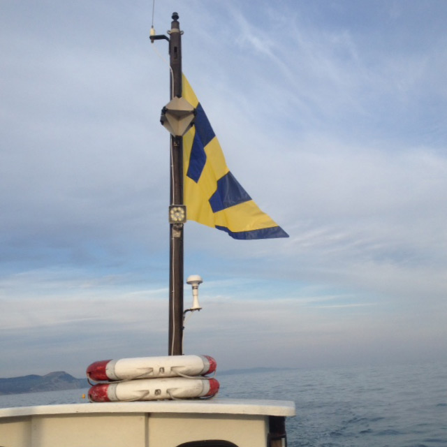 Kraken flag Lyme Bay