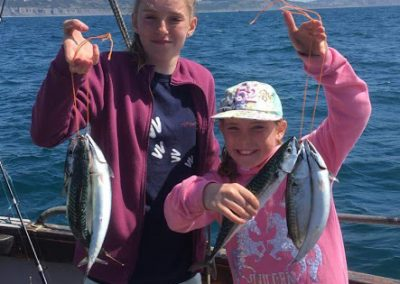 Mackerel Girls Lyme Regis Boat trip
