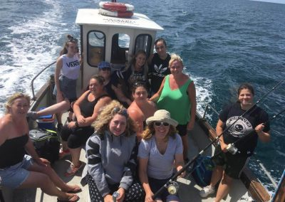 Rugby fishers on Nicks Fishign trips